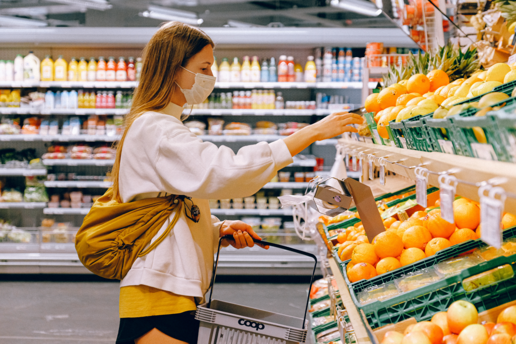 Grocery Shopping in a Pandemic